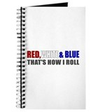 Red White and Blue Journal