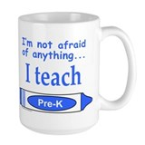 TEACH PRE-K Ceramic Mugs