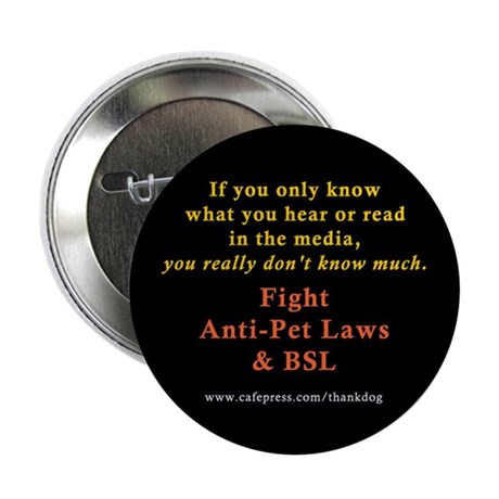 "Anti-pet BSL 2.25"" Button (10 pack)"