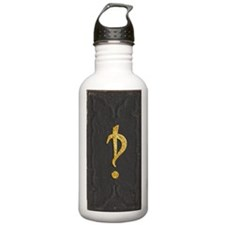 Old Interrobang Book C Water Bottle