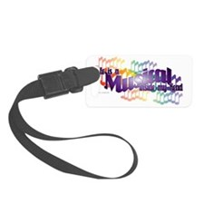 Life is a Musical II Luggage Tag