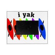 kayak rainbow i yak Picture Frame