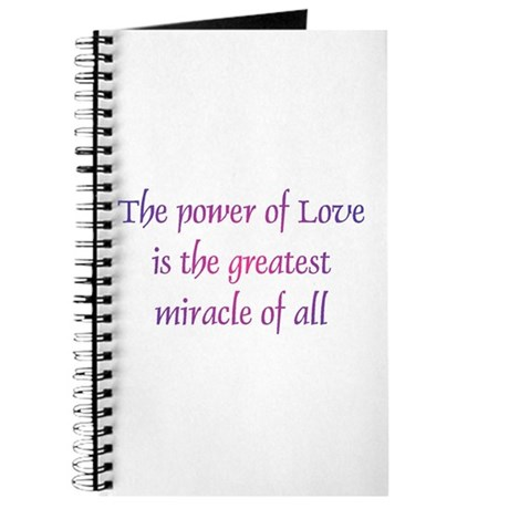 Power of Love Journal
