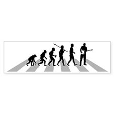 Banjo-Player-B Bumper Sticker