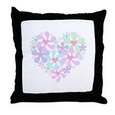 Swirl Heart Throw Pillow