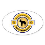 Shepherd Walker Oval Decal