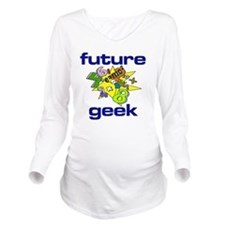 future geek Long Sleeve Maternity T-Shirt