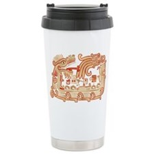 Xochicalco Serpent 1 Ceramic Travel Mug