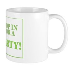 Frog Party Yard Sign Mug