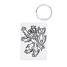 English Lion Keychains