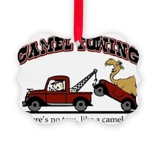 Camel Towing Ornament
