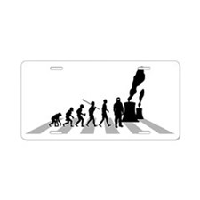 Nuclear-Engineer-B Aluminum License Plate