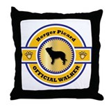 Berger Walker Throw Pillow