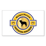 Berger Walker Rectangle Bumper Stickers