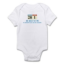 Be Nice To Me Infant Bodysuit