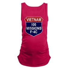 F-4C Phantom II Maternity Tank Top