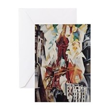 Robert Delaunay Eiffel Tower Greeting Card