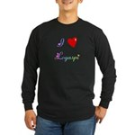 I Love Legaspi Gifts Long Sleeve Dark T-Shirt