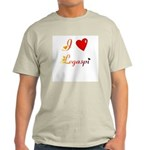 I Love Legaspi Gifts Light T-Shirt