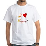 I Love Legaspi Gifts White T-Shirt