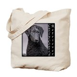 Curly-Coated Retriever Tote Bag