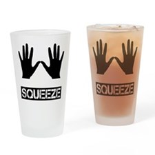 Squeeze Drinking Glass
