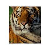 Bengal tiger Fleece Blankets