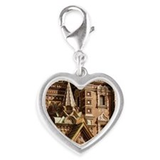 CHURCH AND RESURRECTION IN SAI Silver Heart Charm