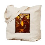 Mona Lisa Deer #1A Tote Bag