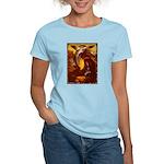 Mona Lisa Deer #1A Women's Light T-Shirt