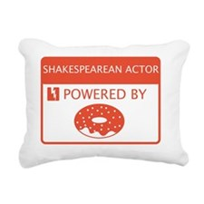 Shakespearean Actor Powe Rectangular Canvas Pillow