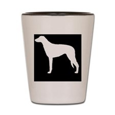 scottdeerhoundpatch Shot Glass