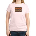 Tutankhamon's Totem Carpet Women's Light T-Shirt
