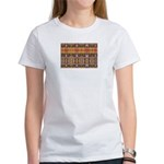 Tutankhamon's Totem Carpet Women's T-Shirt