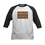 Tutankhamon's Totem Carpet Kids Baseball Jersey