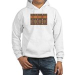 Tutankhamon's Totem Carpet Hooded Sweatshirt