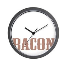 Needs More Bacon Wall Clock