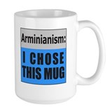 Calvinism (front) Arminianism (back) Coffee Mug