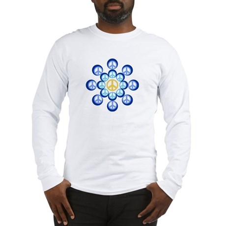 Peace Wheels Men's Long Sleeve T-Shirt