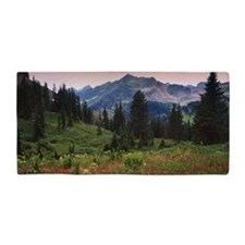 the La Plata Mountains, Colorado Beach Towel