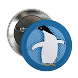 "Penguin Posing 2.25"" Button (10 pack)"