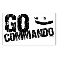 go commando Decal