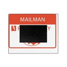 Mailman Powered by Doughnuts Picture Frame
