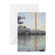 Washington monument, Washington, D.C Greeting Card