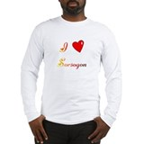 I Love Sorsogon Gifts Long Sleeve T-Shirt