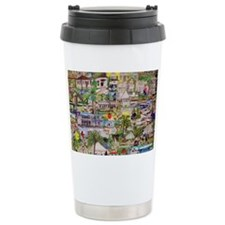 Ocean Reef Montage Ceramic Travel Mug
