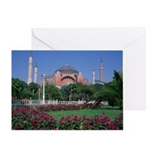 SANTA SOPHIA, ISTANBUL TURKEY Greeting Card