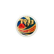 Vintage 1933 Chicago World's Fair Adve Mini Button