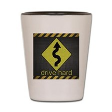 DriveHardiPad Shot Glass