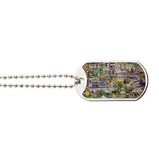 ocean reef montage Dog Tags